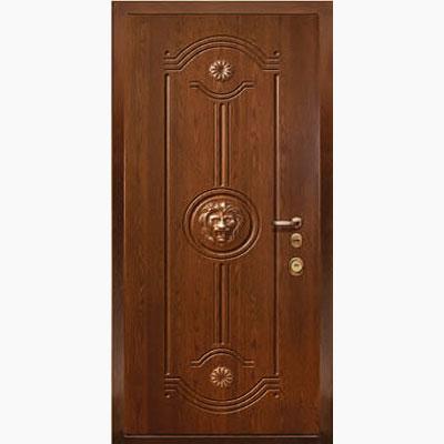 Панель для входных дверей ламинированная с объемным декором Д-5