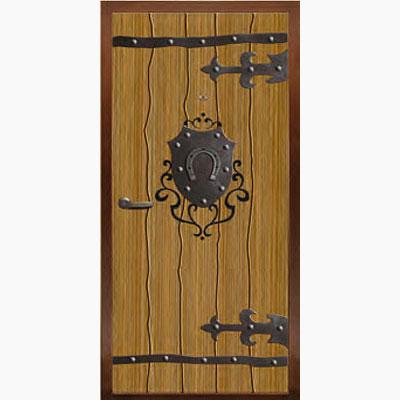 Панель для входных дверей декор с коваными элементами ФЛК-231