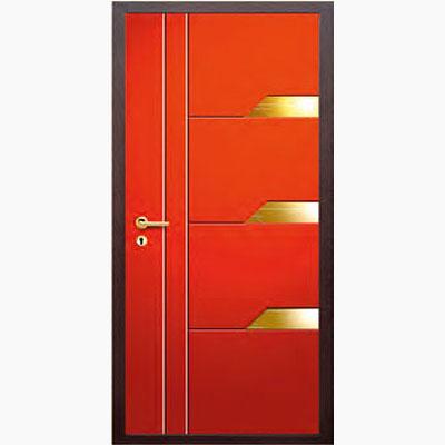 Панель для входных дверей декор из нержавеющей стали ФЛН-259