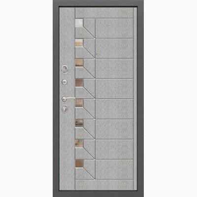 Панель для входных дверей декор из нержавеющей стали ФЛН-267