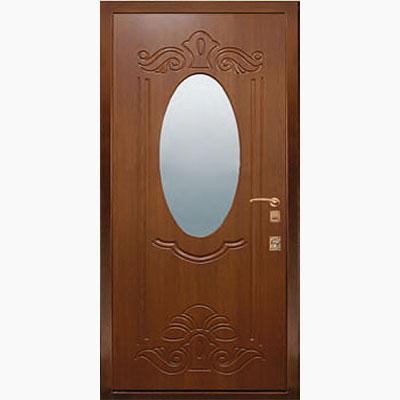 Панель для входных дверей ламинированная с зеркалом ФЛЗ-150