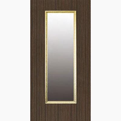 Панель для входных дверей ламинированная с зеркалом ФЛЗ-154