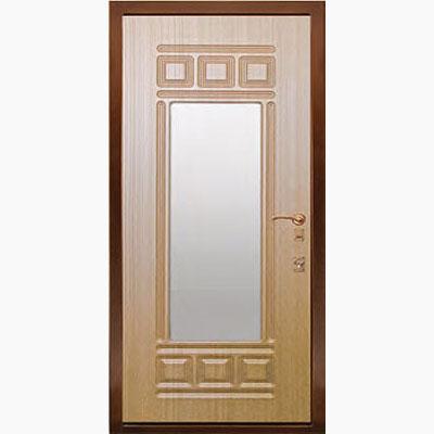 Панель для входных дверей ламинированная с зеркалом ФЛЗ-160