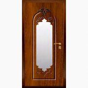 Панель для входных дверей ламинированная с зеркалом ФЛЗ-186
