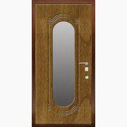 Панель для входных дверей ламинированная с зеркалом ФЛЗ-197