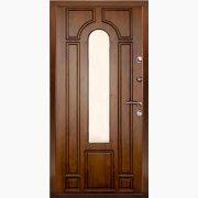 Панель для входных дверей ламинированная с зеркалом ФЛЗ-205