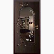 Панель для входных дверей ламинированная с зеркалом ФЛЗ-222