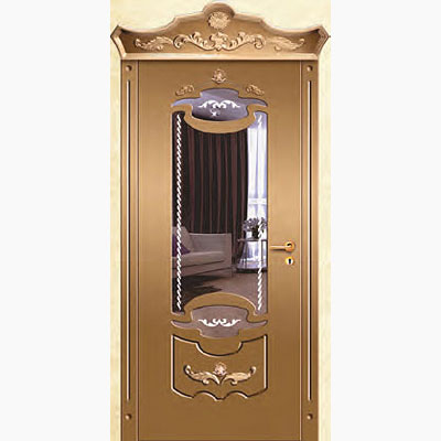 Панель для входных дверей ламинированная с зеркалом ФЛЗ-226