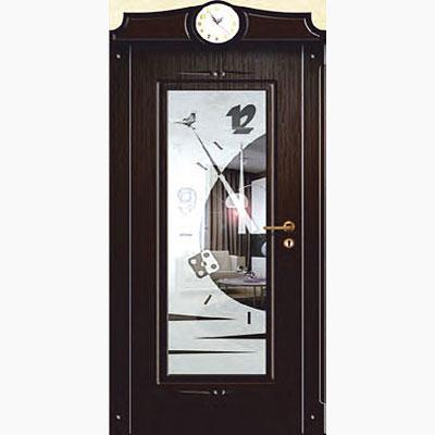 Панель для входных дверей ламинированная с зеркалом ФЛЗ-230