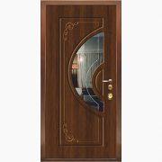 Панель для входных дверей ламинированная с зеркалом ФЛЗ-233