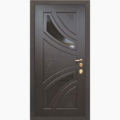 Панель для входных дверей ламинированная с зеркалом ФЛЗ-234