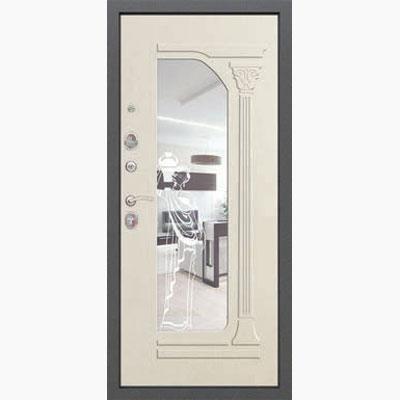 Панель для входных дверей ламинированная с зеркалом ФЛЗ-237