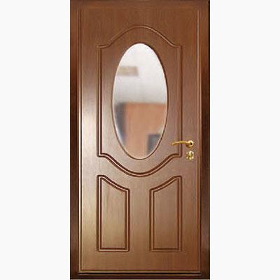 Панель для входных дверей ламинированная с зеркалом ФЛЗ-5