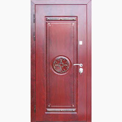 Панель для входных дверей декор с коваными элементами ЛК-1