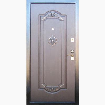 Панель для входных дверей декор с коваными элементами ЛК-3
