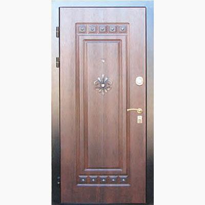 Панель для входных дверей декор с коваными элементами ЛК-4