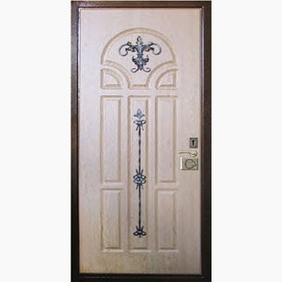 Панель для входных дверей декор с коваными элементами ЛК-7