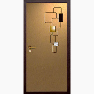 Панель для входных дверей объемная многоцветная ОМ-21