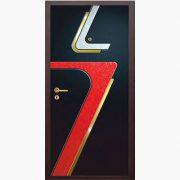 Панель для входных дверей объемная многоцветная ОМ-25