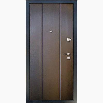Панель для входных дверей ламинированная с молдингами В-01
