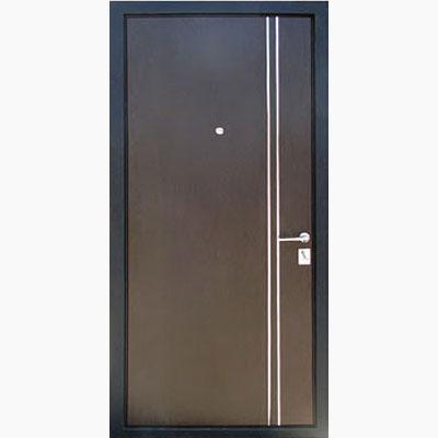Панель для входных дверей ламинированная с молдингами В-04
