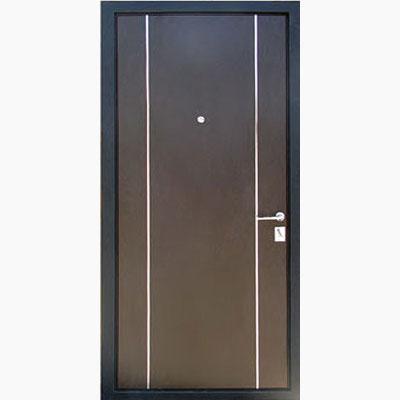 Панель для входных дверей ламинированная с молдингами В-05