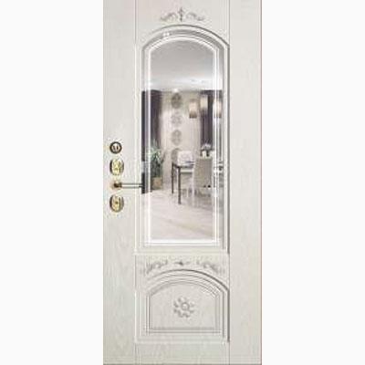 Панель для входных дверей ламинированная с зеркалом ФЛЗ-246