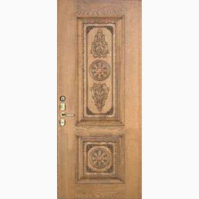 Панель для входных дверей из массива дуба Премиум Лира-2