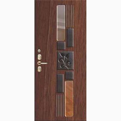 Панель для входных дверей объемная одноцветными ОЛ-34