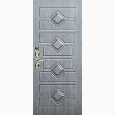 Панель для входных дверей объемная одноцветными ОЛ-38