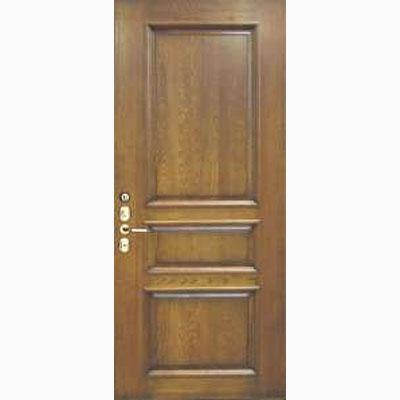 Панель для входных дверей из массива дуба Премиум ПД-7