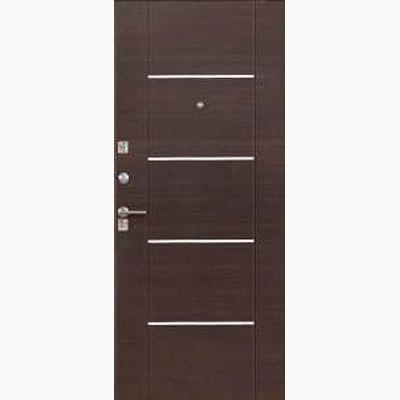 Панель для входных дверей ламинированная с молдингами В-12