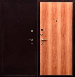 Металлическая дверь «ЕРМАК» (бюджетный вариант)