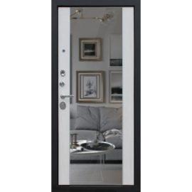 Стальная дверь «Добрыня 22» с зеркалом