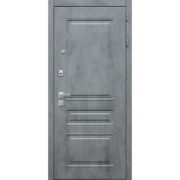 Стальная дверь «Добрыня 21» с зеркалом