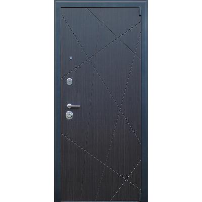 Стальная дверь «Добрыня 20» с зеркалом